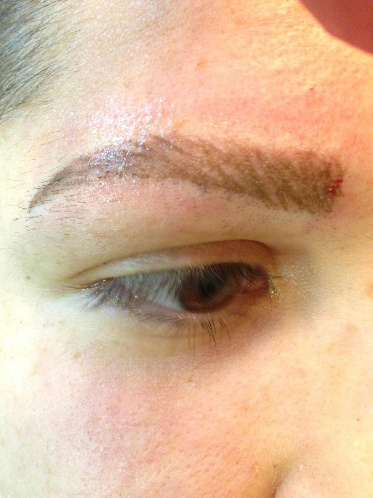 New Brows For A Gal That Had None Pghpermanentmakeup By