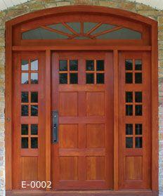 Awesome Custom Wood Exterior Doors Gallery - Interior Design Ideas ...