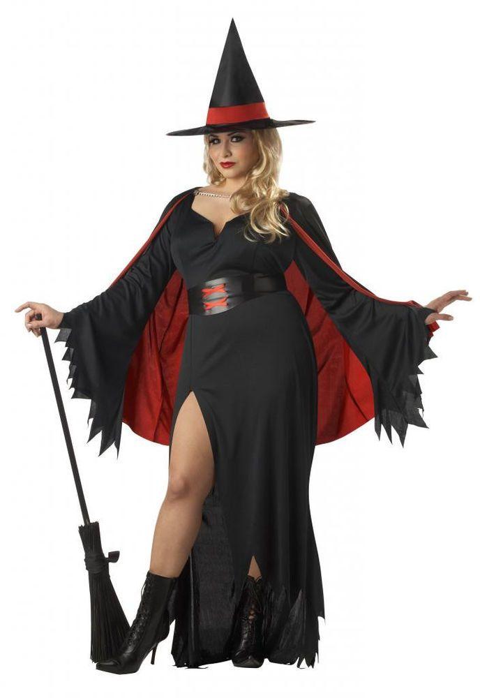 Plus size sexy witch