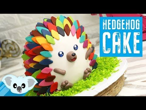 HEDGEHOG Cake! | Koalipops How To #hedgehogcake