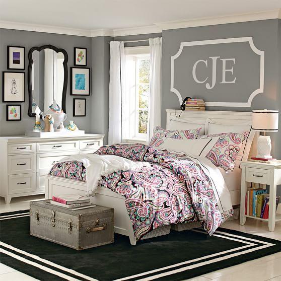 Scallop Corners Wall Decal Girls Bedroom Furniture Girl