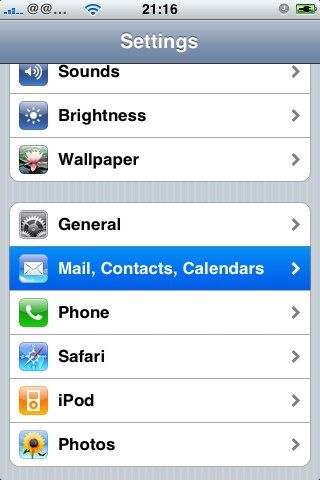 How Do You Access A Yahoo Mail Account In Iphone Mail Iphone