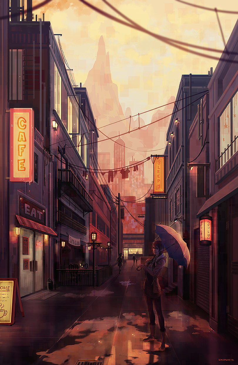 Cityscape by whispwill