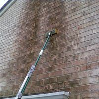How to clean mildew off bricks home exterior brick - How to clean brick house exterior ...