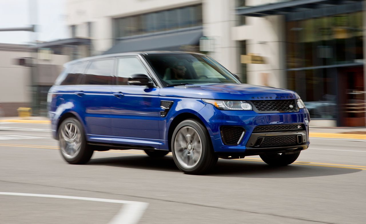 2015 Land Rover Range Rover Sport SVR Range rover svr
