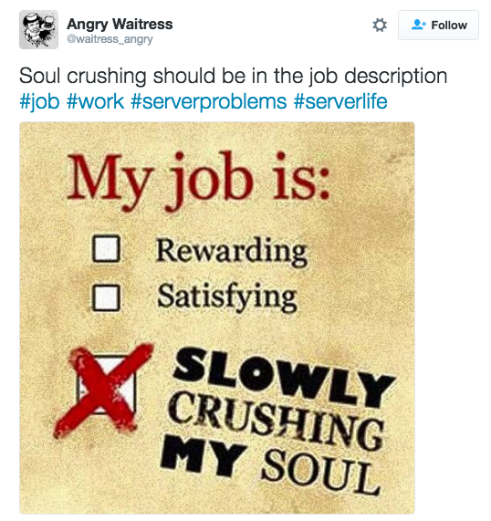 25 Moments Anyone Who Is A Server Has Experienced