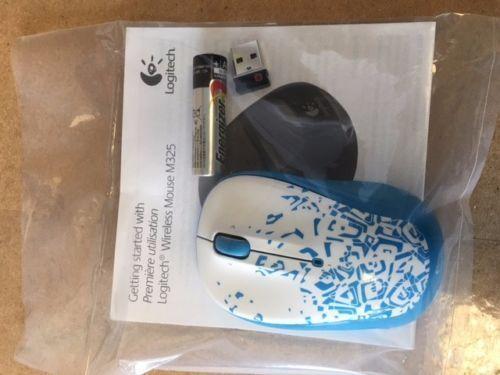 NEW OEM--Logitech M325 Quirey USB Wireless Optical Mouse NANO