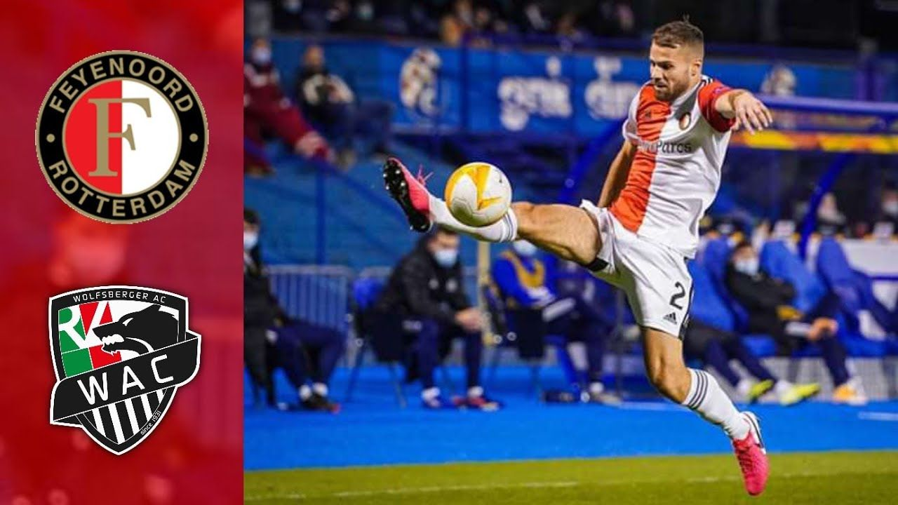 Highlights Feyenoord Vs Wolfsberger Ac Feyenoord Wolfsberger Football Gif Highlights Youtube
