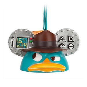 Phineas And Ferb 2020 Christmas Ornament Disney Ear Hat Ornament   Phineas & Ferb Agent P in 2020 | Disney