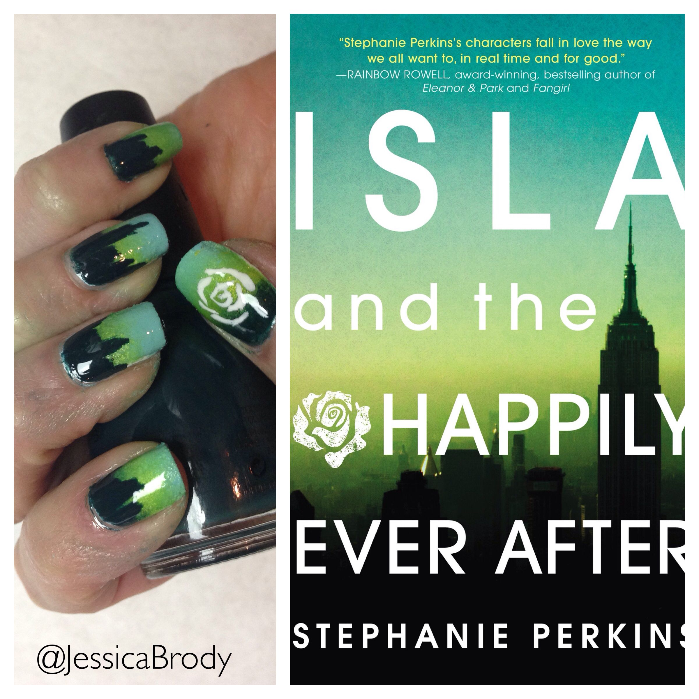 ISLA AND THE HAPPILY EVER AFTER by Stephanie Perkins | Bookish Nails ...