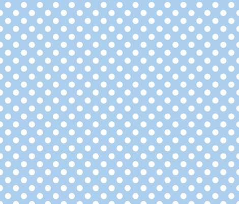 Cornflower Blue Polka Dot Fabric By Jessicabonilla On Spoonflower Custom Fabric Polka Dot Fabric Fabric Blue Polka Dots