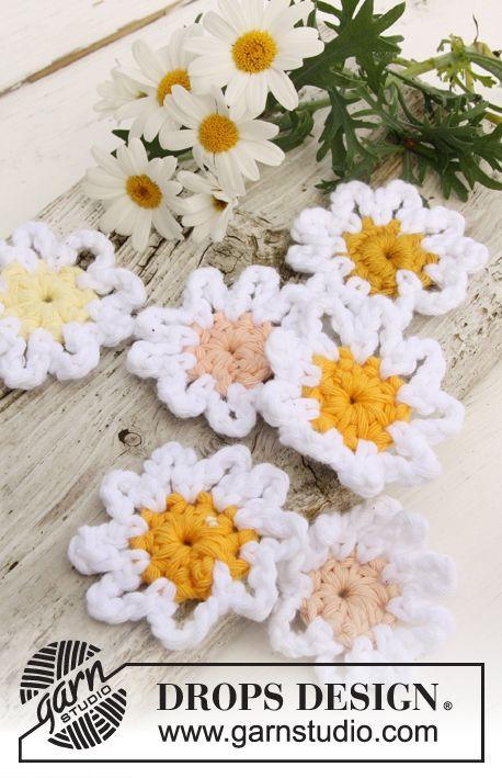 Spanish Daisy Crochet Pattern, free, thanks so xox