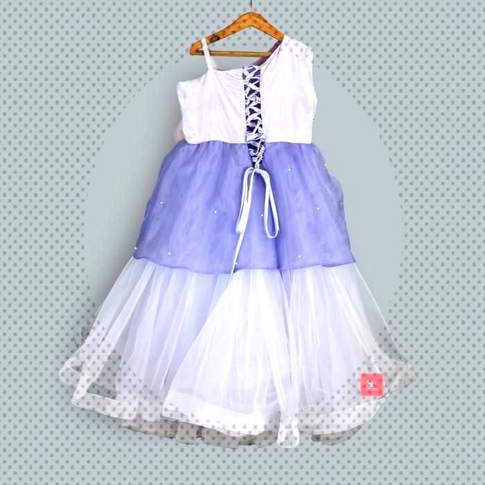 Sugar Candy Girls Net Gown in Purple