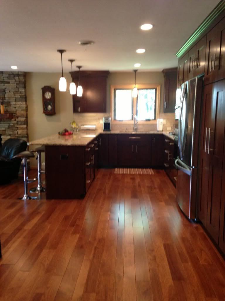 Heidihausfrau S Image House Flooring Staining Cabinets Wood Floors