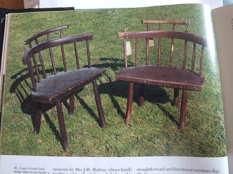 Fine Original Painted Pine Comb Back Hedge Chair In 2019 Chairs Creativecarmelina Interior Chair Design Creativecarmelinacom