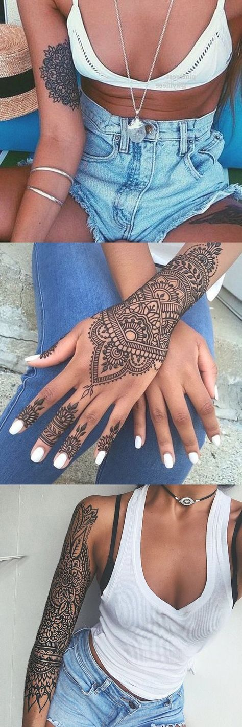 Henna Designs For Inner Arm: Beautiful Mandala Placement Tattoo Ideas