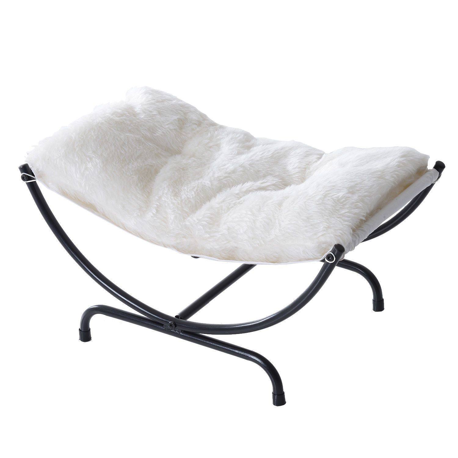 Plush Posing Hammock for Newborn Photography Black