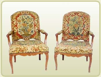Sillones estilo luis xvi franceses salones de estilo - Sillones estilo frances ...