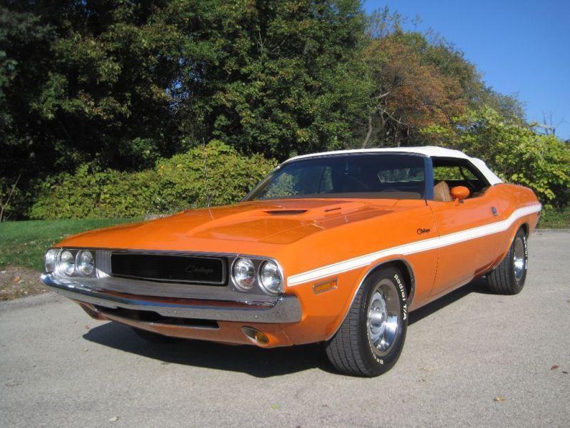 1970 Dodge Challenger Convertible Top Mopar 2000 Hour Rotisserie Restored 70 Challenger Convertible The Only O Ad Dodge Challenger Challenger Dodge