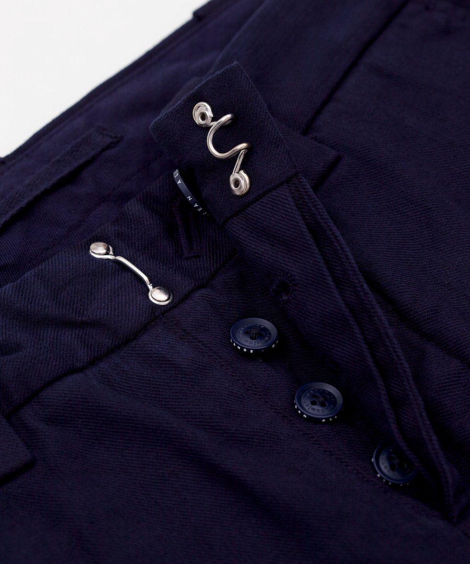 Nanamica Slim Trousers - Navy - Superdenim