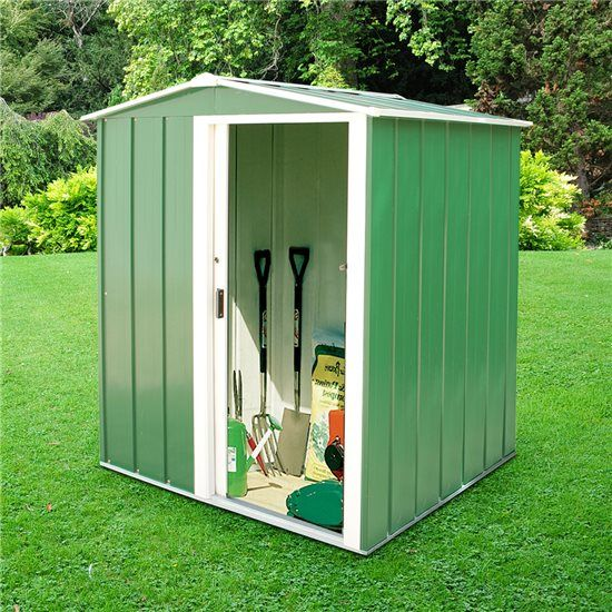 BillyOh Partner Mini Apex Metal Shed | Gardening | Pinterest