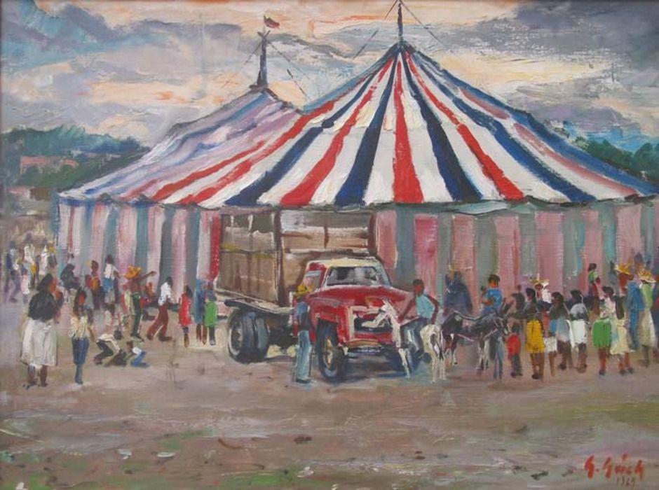 Artslant The Circus Tent Circus Tent Artist Art Academy