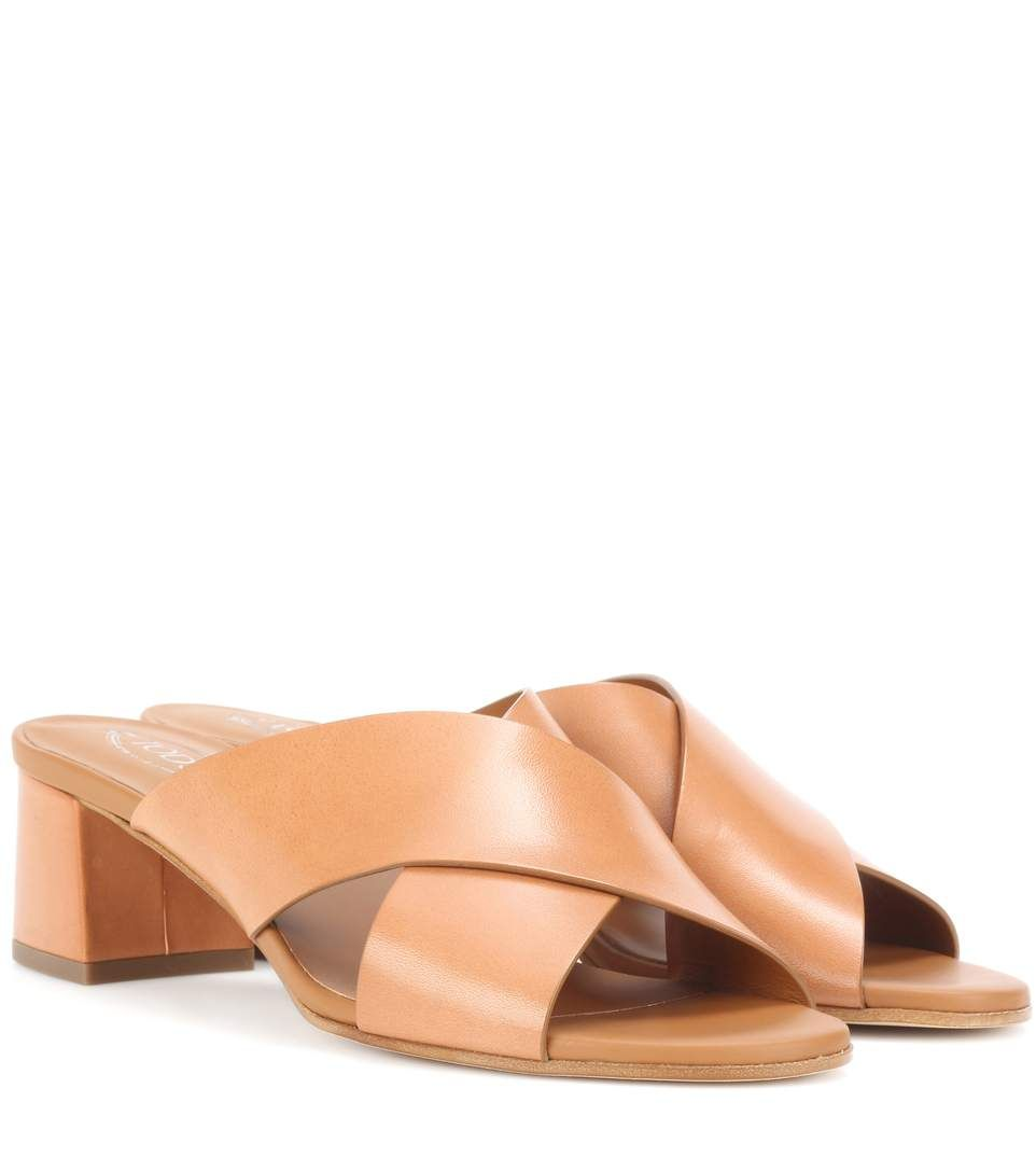 Tod's Leather sandals rKJUVI