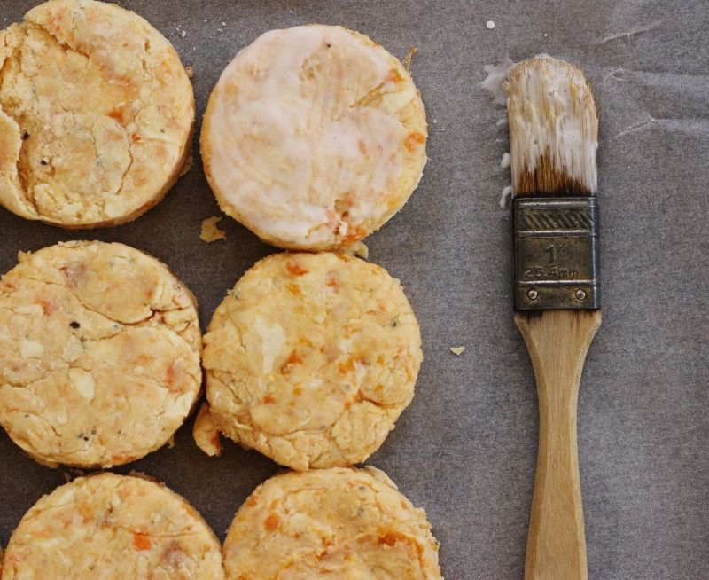 Sweet Potato, Cream Cheese & Rosemary Biscuits   Cream ...