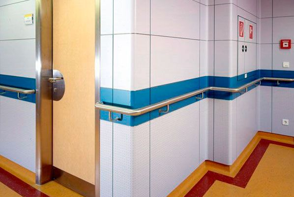 Wall Profile for Hospital made in Compact Forming - Compact Form