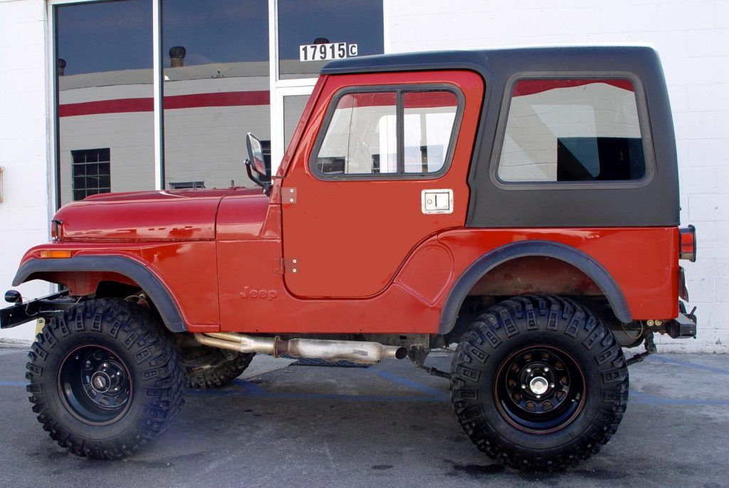 Rally Tops Full Doors Are Available For Convertible Jeep Cj5