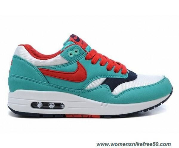 nike wmns air max 1 retro/sport red-white-blue