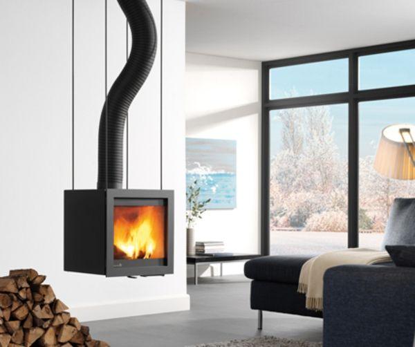 hängender kaminofen -28 super modelle! | fireplace, kamin & ofen, Mobel ideea