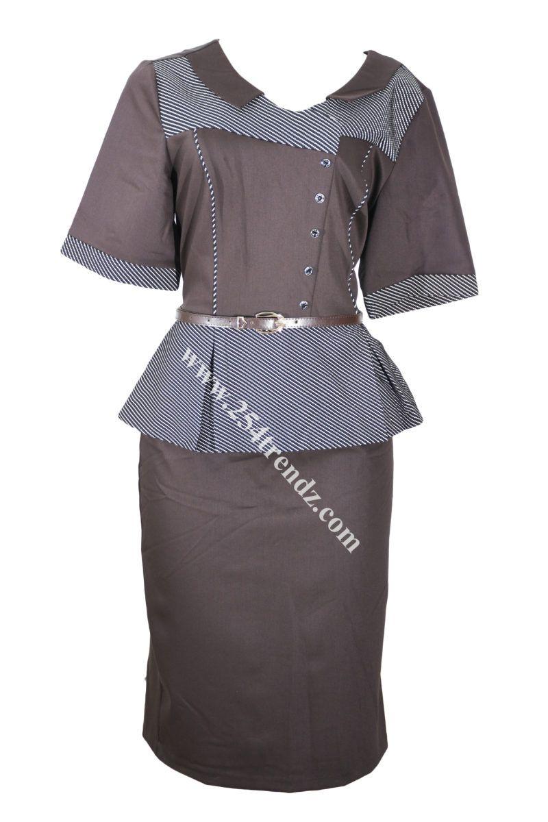 Dark brown dress at kshs dresses pinterest dark brown