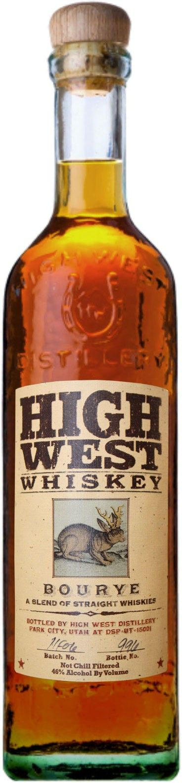 High West Bourye Whiskey.  Aged for up to 16 years, this blend of bourbon and rye #whiskey is finally being re-released after years as one of High West's hardest to find and most desired whiskies. | @Caskers