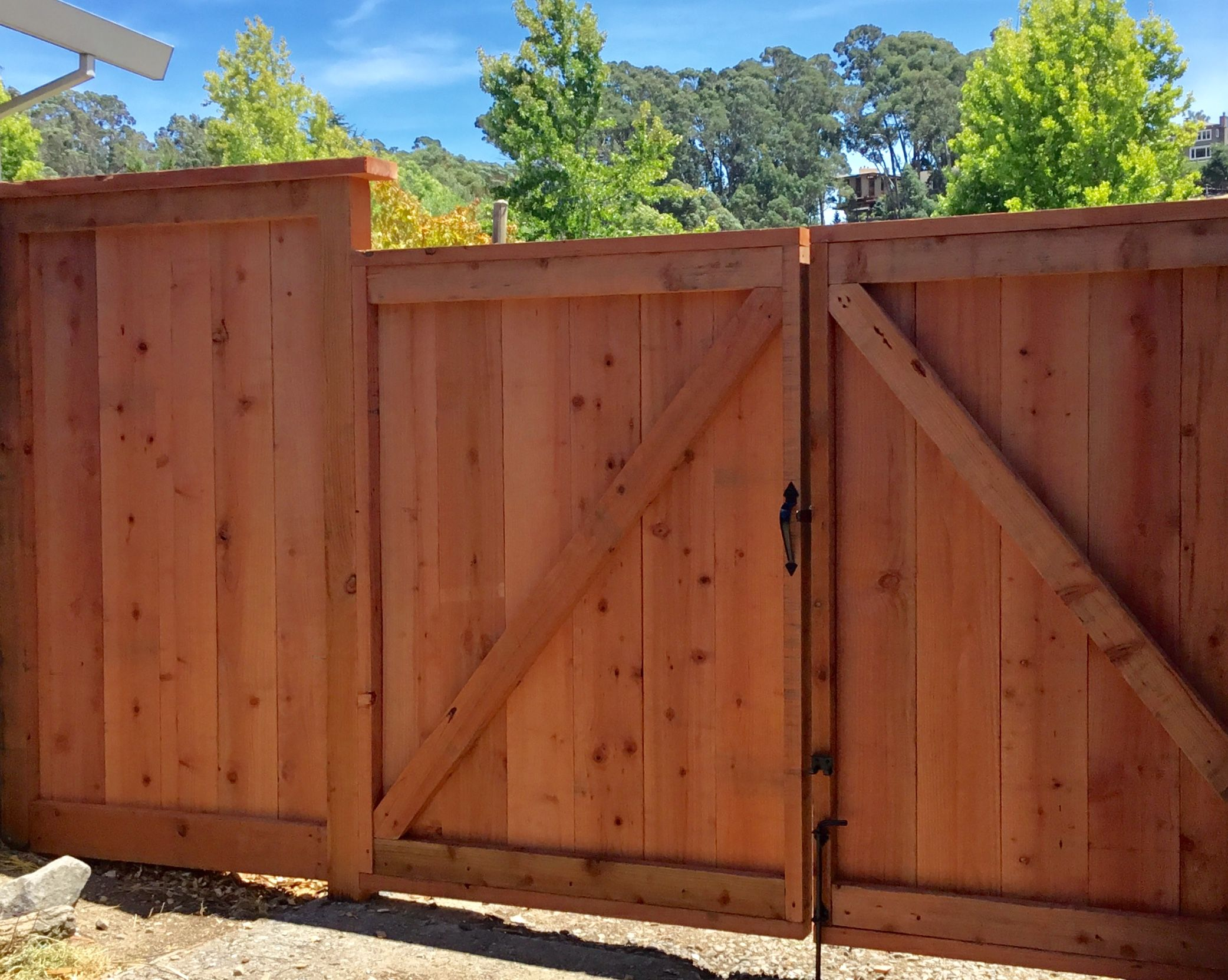 Fence contractor marin county fence construction fence