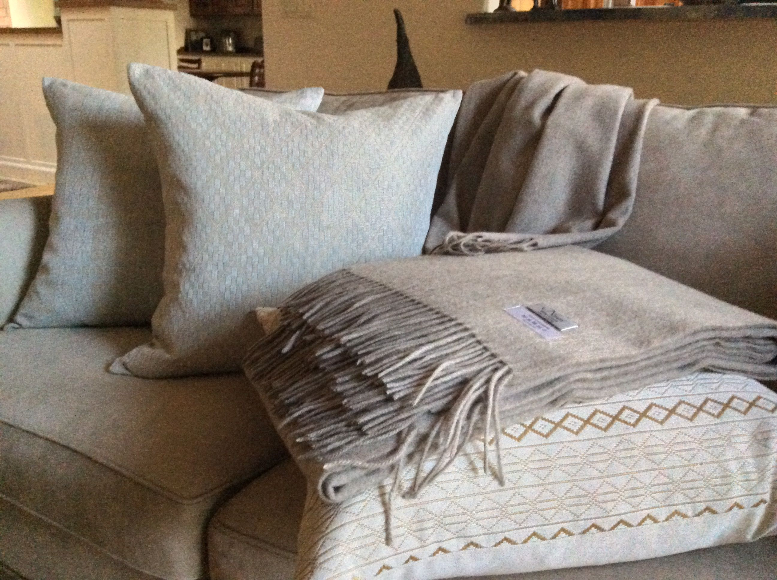 Our Cashmere Throws Are Among Our Most Popular Textiles For The