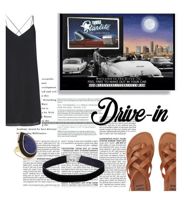 """Summer Date: Drive-In"" by ashleymmck ❤ liked on Polyvore featuring BCBGMAXAZRIA, Miss Selfridge, Billabong, Ippolita, DateNight, drivein and summerdate"