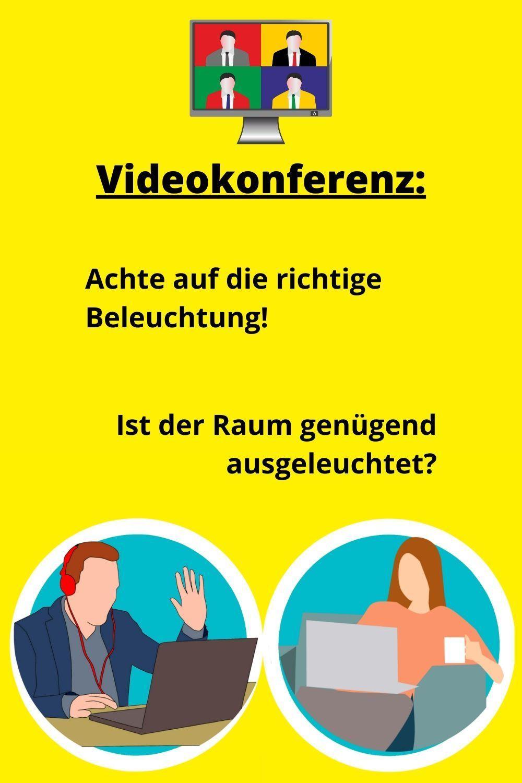 Richtig Wirken In Der Videokonferenz In 2020 Korpersprache Lesen Kommunikation Lernen Videokonferenz