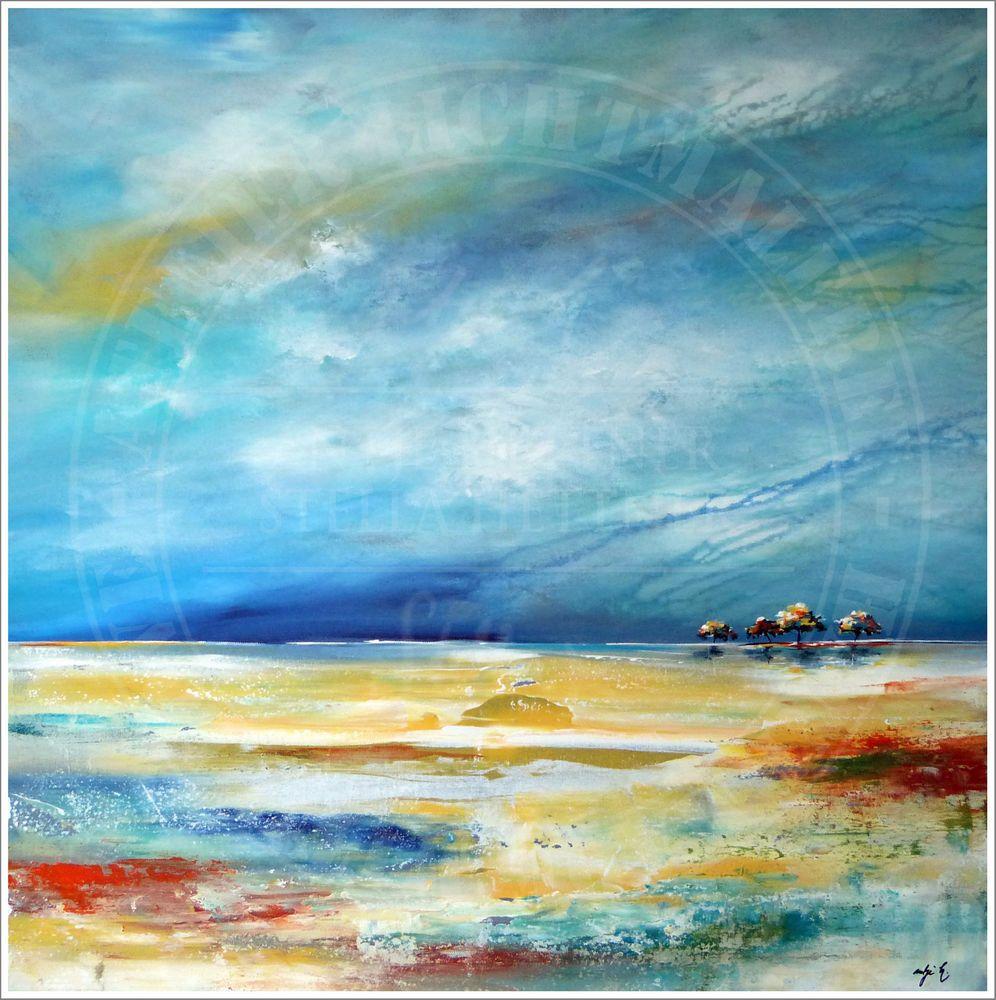 Antje hettner bild original kunst gem lde leinwand malerei abstrakt xxl acryl abstract - Leinwand malerei ...