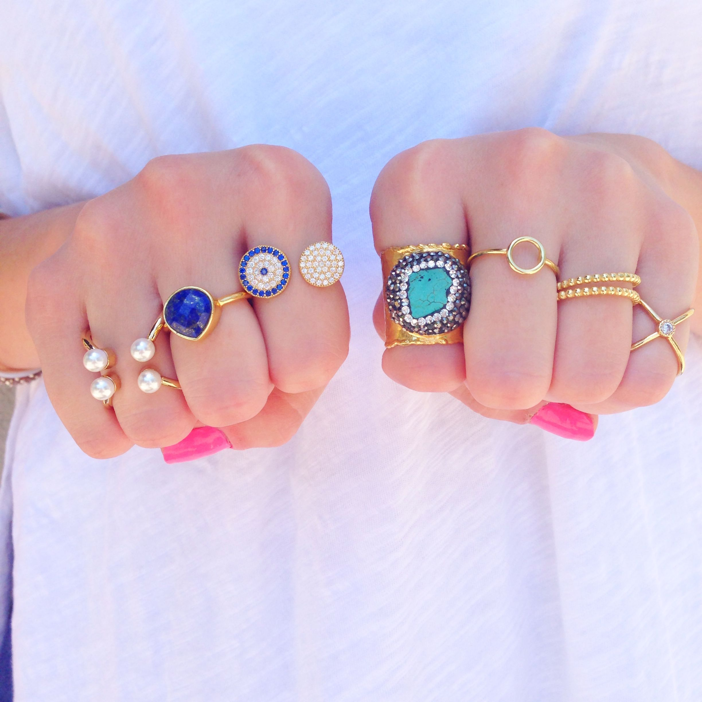 Some serious ring love.