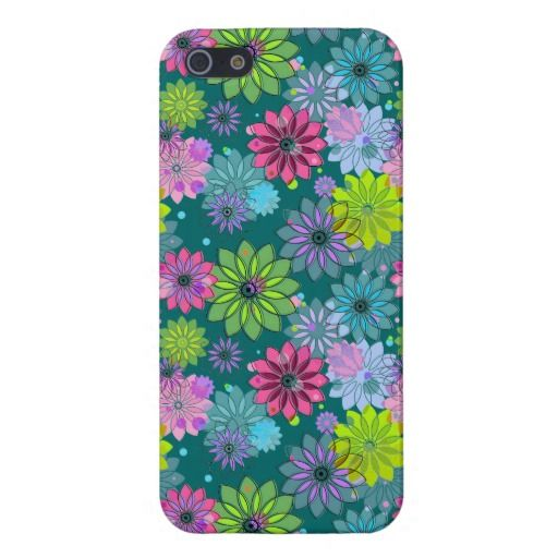 Spring Floral Design iPhone Case iPhone 5 Cover