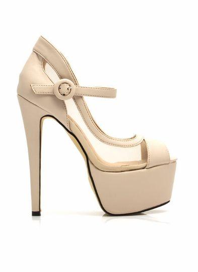 Sapato meia pata estilo Louboutin salto 13 cm meia pata 2