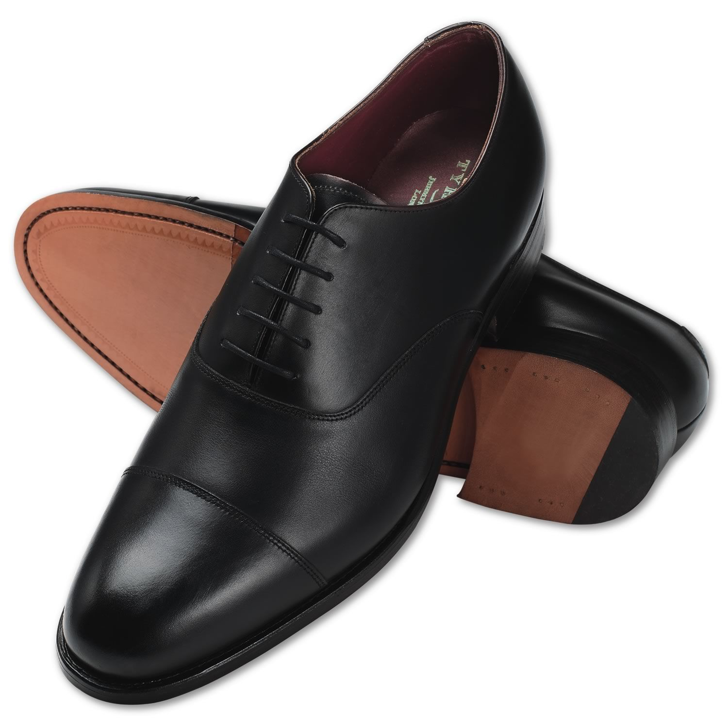 I have two pairs... They are really good!  Black calf leather Oxford shoes from Charles Tyrwhitt, Jermyn Street, London  Made in Northampton, England