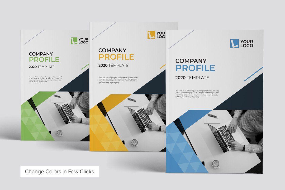 Compay Profile 2020 Brochure Template Booklet Design Brochure Design