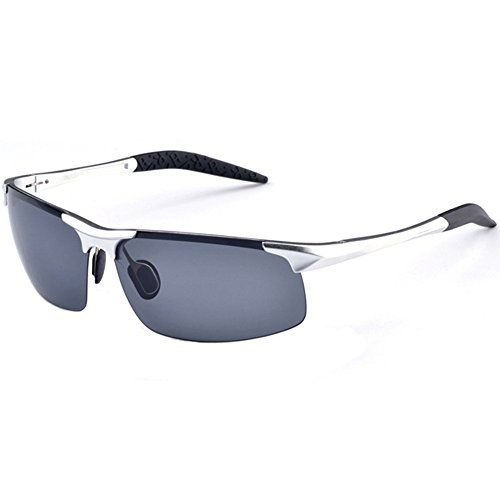 fishing polarized sunglasses o8gq  MOTELAN Mens Polarized Sunglasses for Driving Fishing Golf Metal Glasses  UV400 Silver >>> Click&#8221; title=&#8221; fishing polarized sunglasses o8gq &#8221; /></a><br /> <br /><a href=