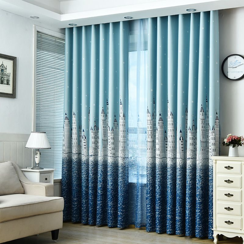 Best Scenery Blackout Curtains Online Baby Room