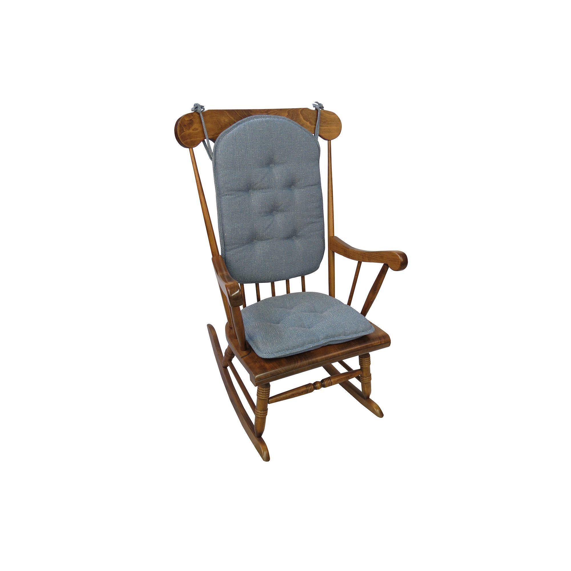 Rocking Chair Pad Set, Brown