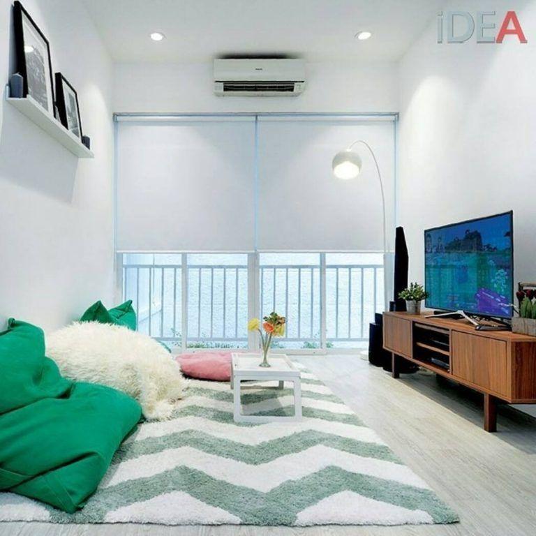 5 Simple Living Room Without Sofa Beautiful Ruang Tamu Rumah Ruang Keluarga Kecil Ide Ruang Keluarga