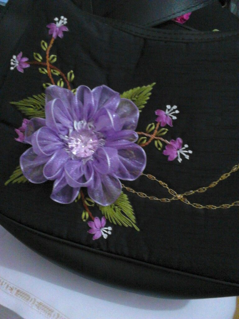 Pin by amany kandeel on silk ribbon embroidery pinterest ribbon ribbon flower flower diy fabric yarn silk ribbon embroidery diy fashion ribbons beautiful flowers embroidered towels satin izmirmasajfo