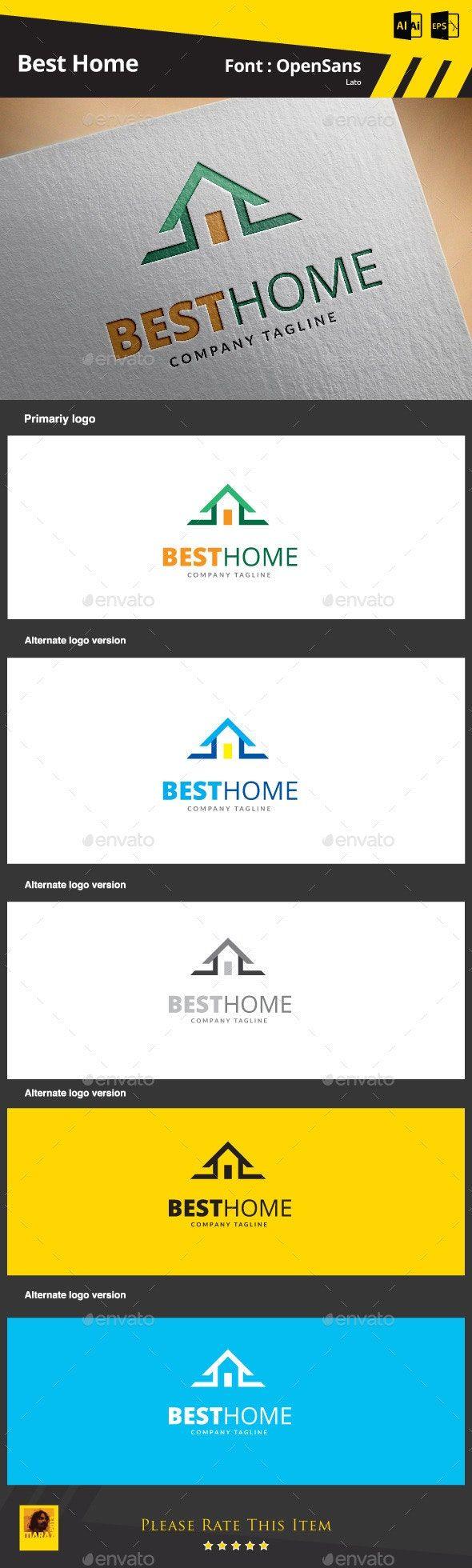 Best Home AD Home Home design software, Home logo